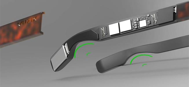 inteligentne okulary microLED